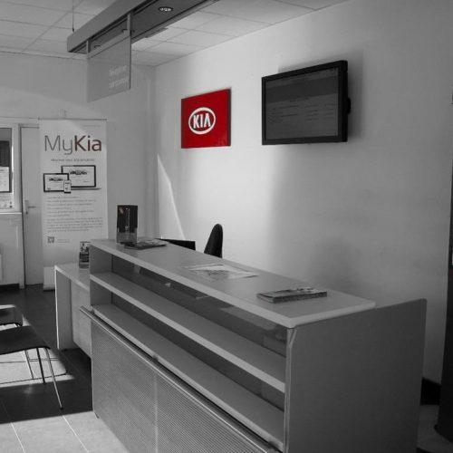 Réception Kia - Garage du Château